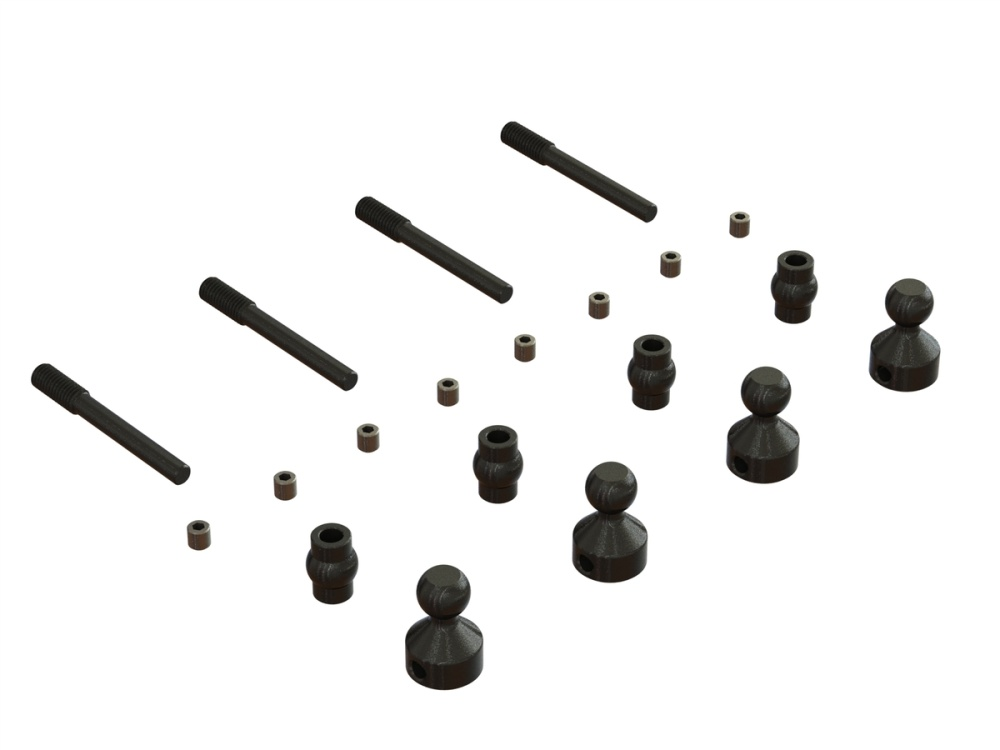 Arrma Sway Bar Hardware Set (ARA330614)