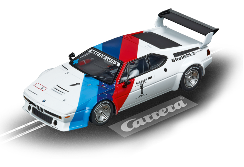 Carrera Evolution BMW M1 Procar Andretti, No.01, 1979