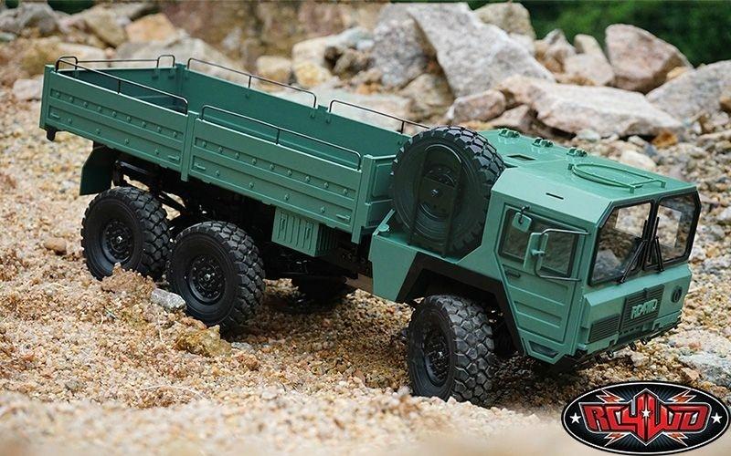RC4WD Beast II 6x6 Truck 2.4GHz m. MIL-Spec Hard Body