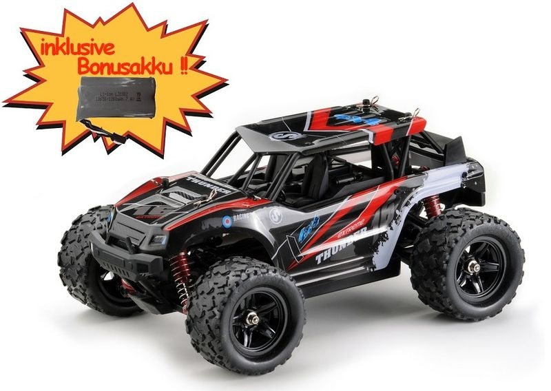 Absima High Speed Sand Buggy THUNDER rot 4WD 2.4GHz