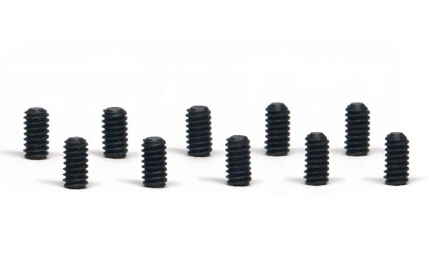 Slot.it Innen-Sechskant-Schrauben M2x3mm Stahl, 10 Stück