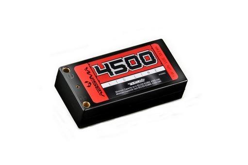 Absima Shorty Pack LiPo 7.4V-110C 4500 Hardcase (Tubes)