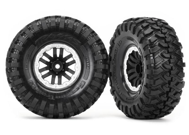 Traxxas Felgen + Reifen montiert, TRX-4