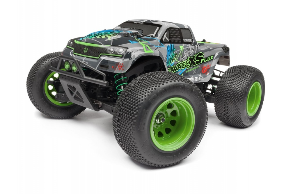 HPI Savage XS Flux VGJR 4WD Monster-Truck 2.4GHz mit