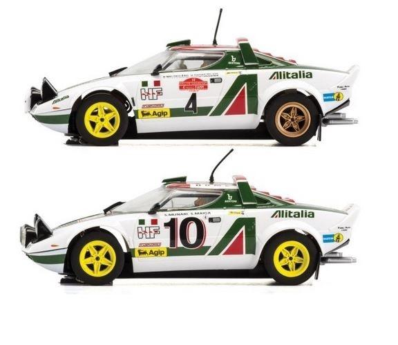 scalextric legends lancia stratos 1976 rally champions - modellbau