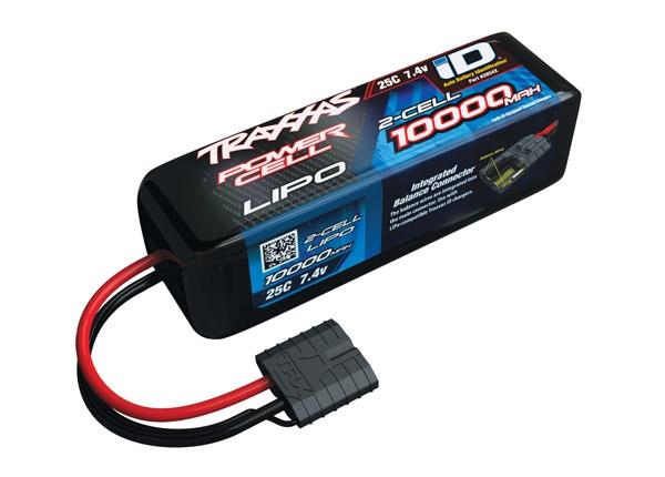 Traxxas Lipo 10000mAh  7,4V 2-Zellen 25C mit ID-Stecker