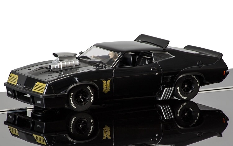 Scalextric Ford XB Falcon - Mad Max schwarz