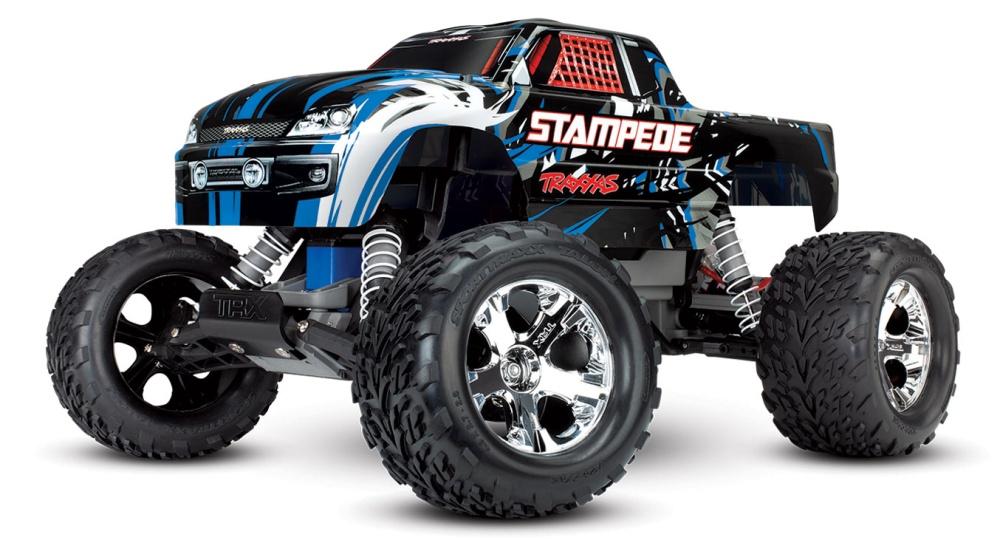 Traxxas Stampede 2WD Monster Truck (12T+XL-5) TQ2.4GHz