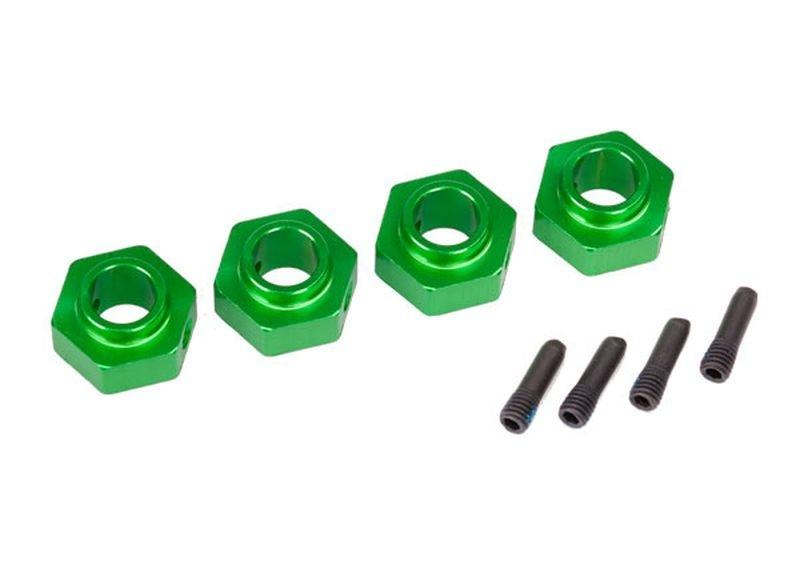 Traxxas Radmitnehmer 12mm 6061-T6 Alu (4)/Schraub Pin (4)
