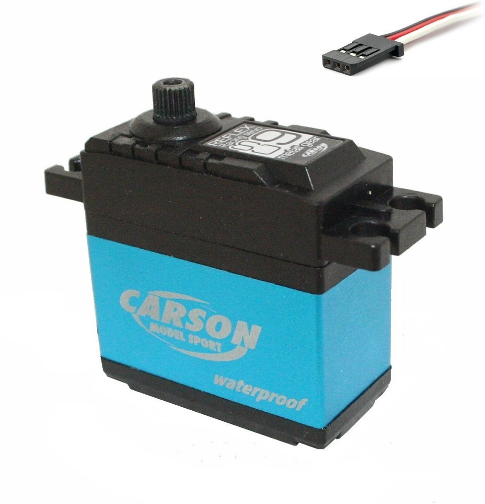 Carson 502042 Waterproof CS-9 Reflex Servo Metallgetriebe