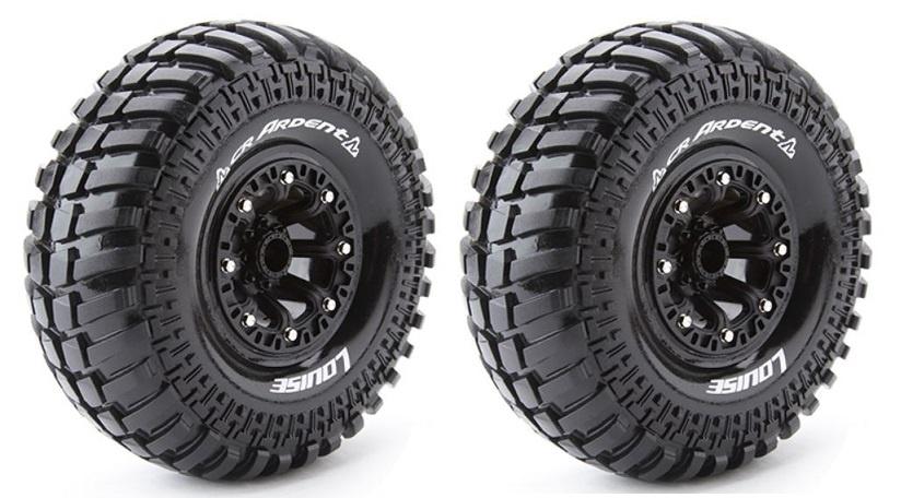 Louise RC - CR-ARDENT - 1:10 Crawler Reifen -Fertig Verklebt