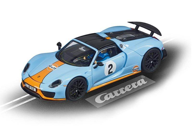 Carrera Evolution Porsche 918 Spyder Gulf Racing No.02