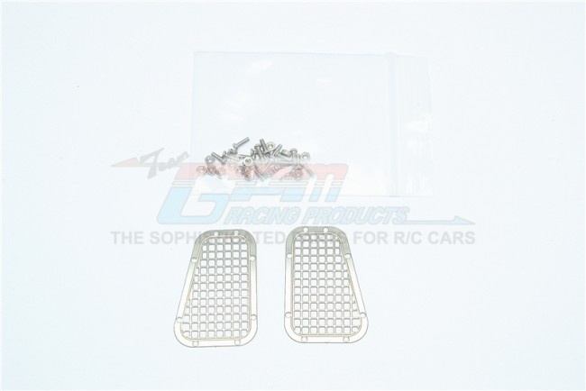 GPM stainless steel fender vent (grid pattern) for TRX4 -