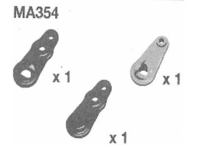 Amewi Steer Arms AM10SC/ST Servosaverhebel + Lenkhebelchass
