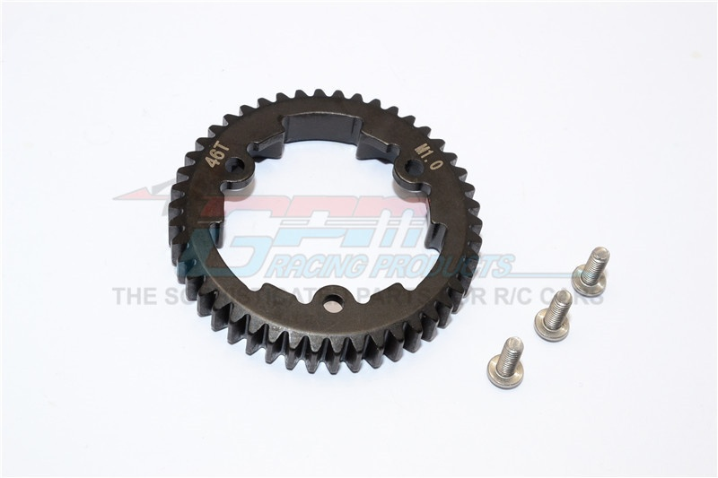 GPM steel spur gear 46T (M1.0) - 1PC Set for Traxxas X-Maxx