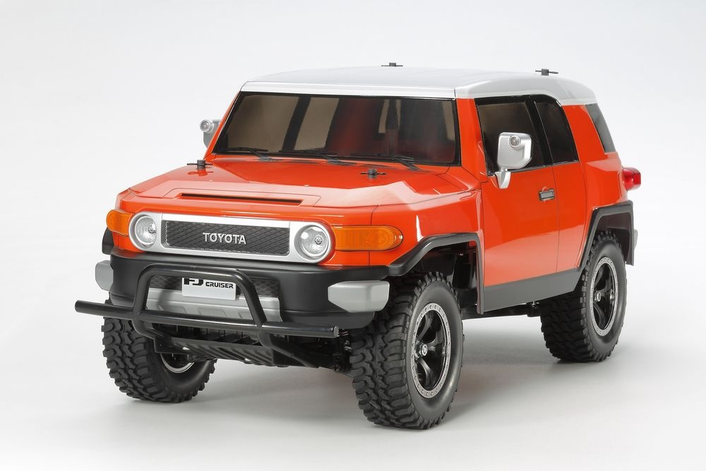 tamiya rc toyota fj cruiser orange cc 01 bausatz 1 10 modellbau metz slotcars rc. Black Bedroom Furniture Sets. Home Design Ideas