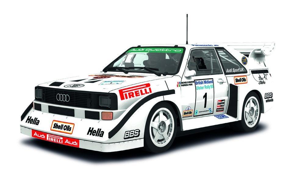 Scalextric Audi Sport quattro S1 1985 #1 HD