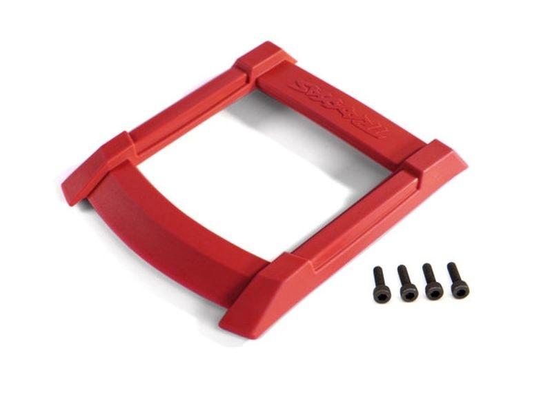 Traxxas Skid-Platte, Dach (für Karo) rot