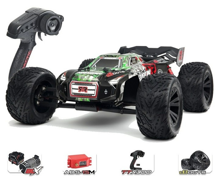 Arrma Kraton 6s BLX 4WD Electric Monstertruck grün RTR 1:8