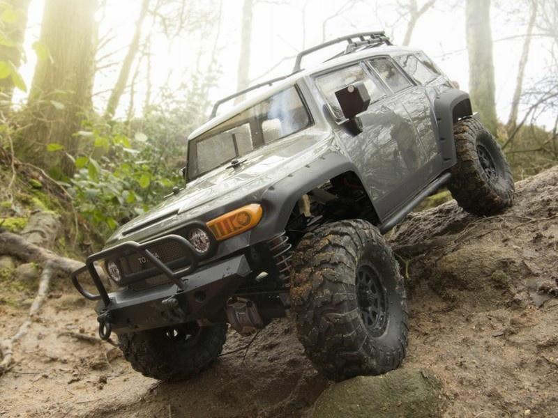 HPI Venture Toyota FJ Cruiser Gunmetall 4WD Scale Crawler