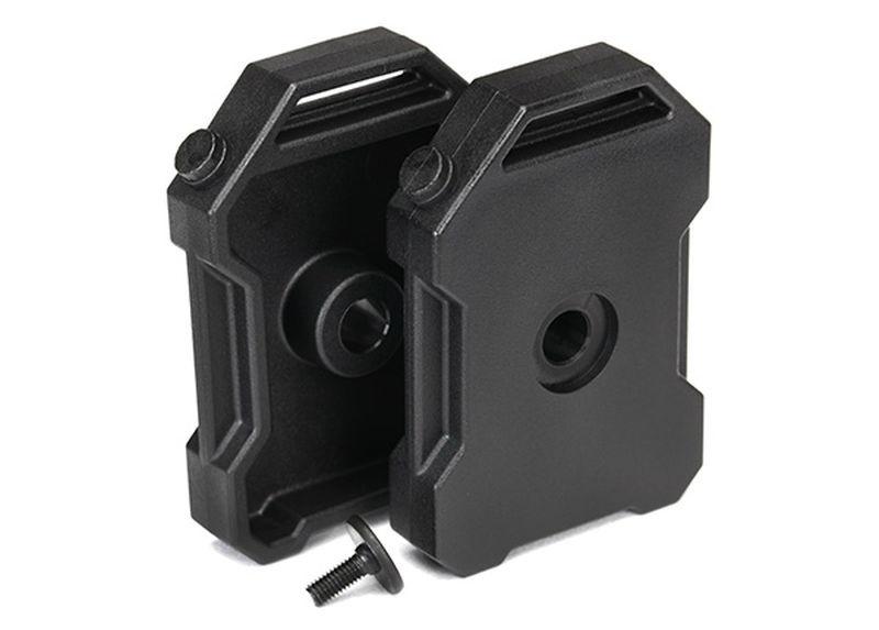 Traxxas Benzin-Kanister (schwarz) (2)/ 3x8 FCS (1) TRX-4