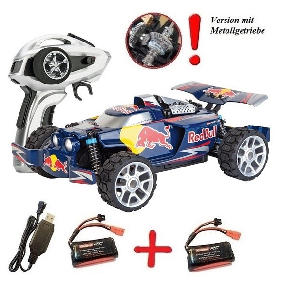 Carrera RC Profi Red Bull NX2 - PX - Carrera (C) 4WD Buggy