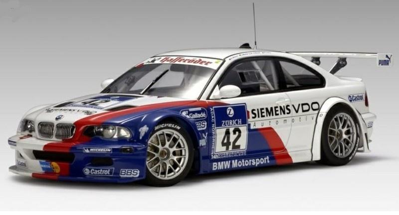 AutoArt BMW M3 GTR 24Hrs Nürburgring 2004 #42