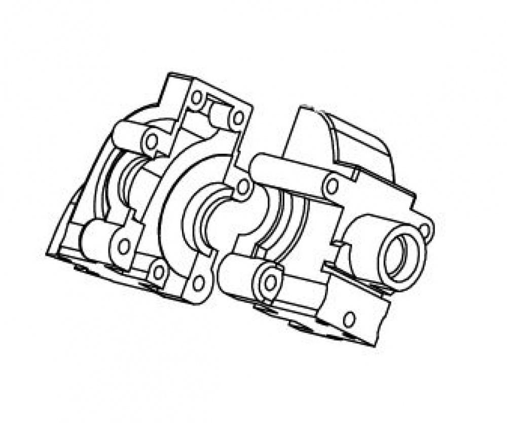 Carson CE-10 Getriebegehäuse verstärkt v/h