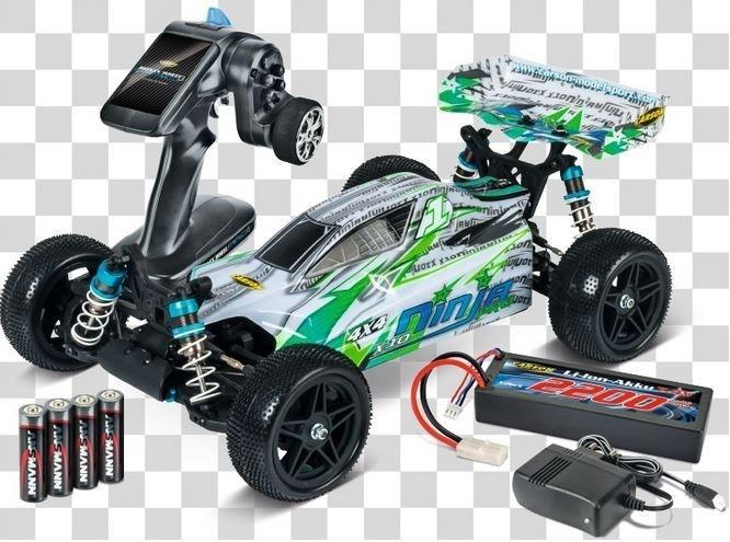 Carson X-10 Ninja-Pro 4WD Buggy 2.4GHz RTR 1:10