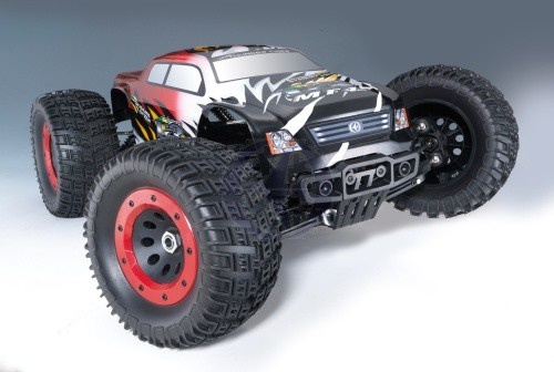 Thunder Tiger MT4 G3 4WD BL MT 6s 2.4GHz rot RTR 1:8