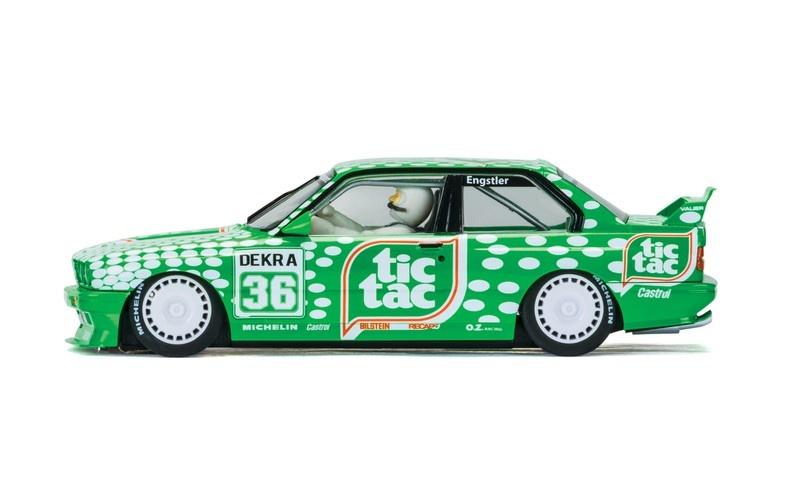 Scalextric BMW M3 E30 Team TicTac #36 HD
