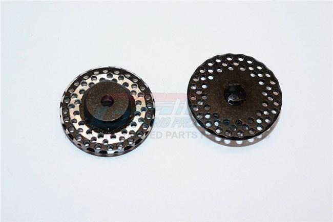 GPM aluminum brake disk hex adaptors (12mmx6,5mm) - 3PC Set
