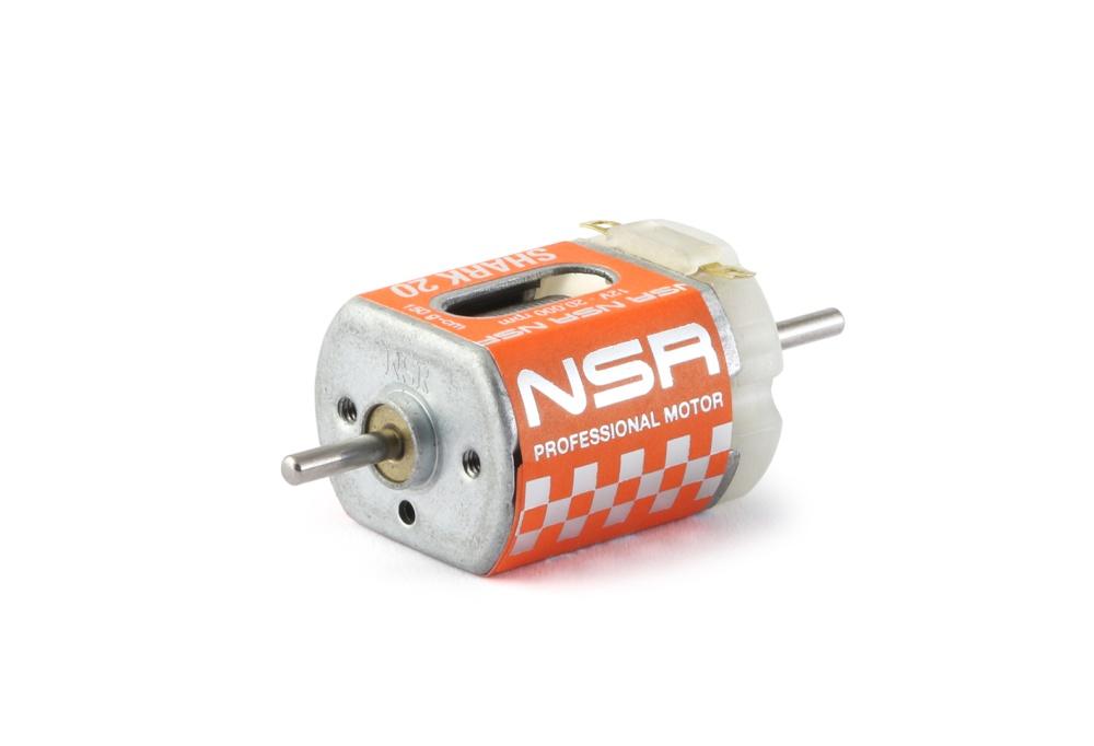 NSR Shark 20k EVO Motor - 20.000rpm - 150 gcm @ 12V - Short