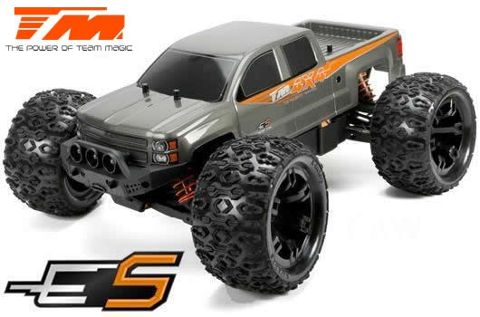 Team Magic E5 4WD Monster Truck Silber Brushed 2.4GHz