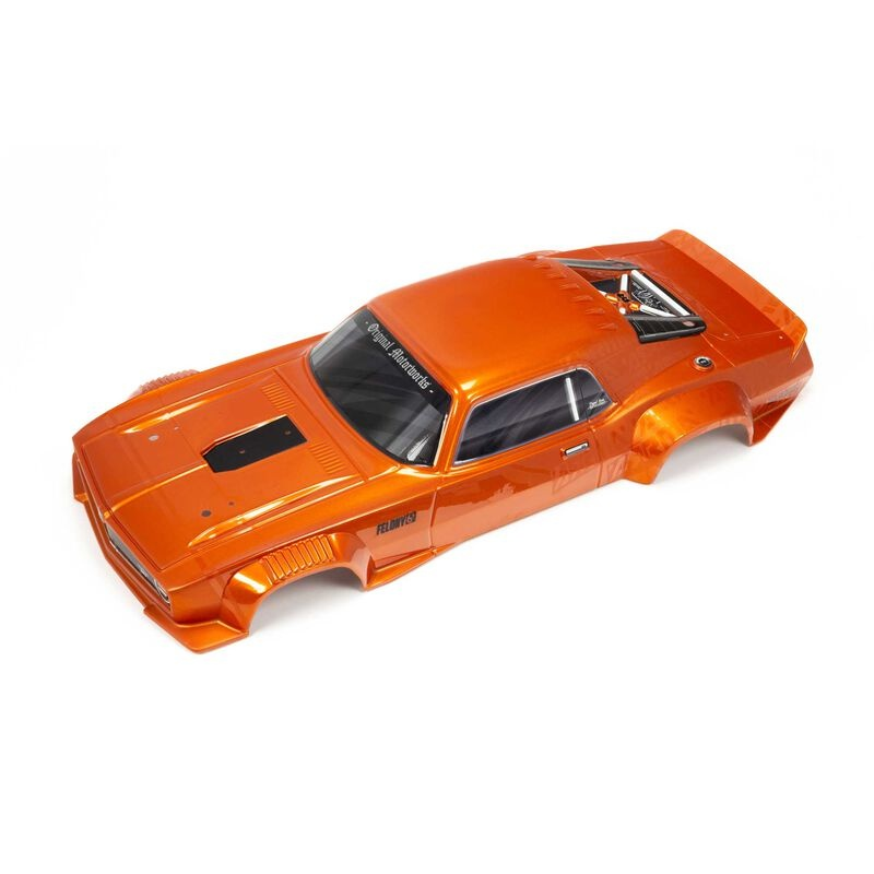 Arrma Painted Body, Orange: FELONY 6S BLX (ARA410009)