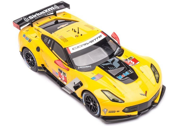 Carrera Digital 124 Chevrolet Corvette C7.R No.3 --LOSE--