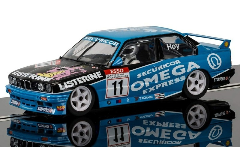 Scalextric BMW M3 E30 Omega #11 Hoy HD