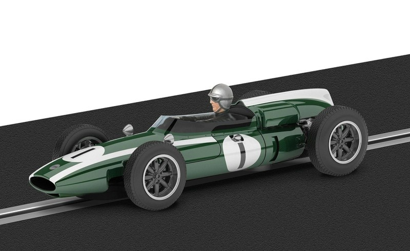 Scalextric Legends - Cooper Climax - J.Brabham