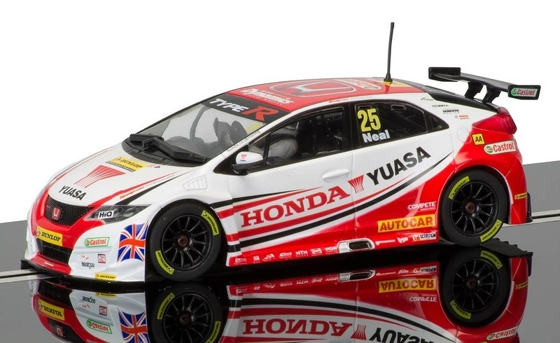 Scalextric Honda Civic Type R #25 BTCC 2015