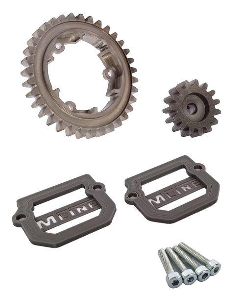 MLine Harden Steel Tuning für Traxxas X-Maxx Modul 1.5 35/15