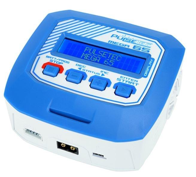 Pulsetec - Charger - Mega 65 - AC 100-240V - 65W Power -