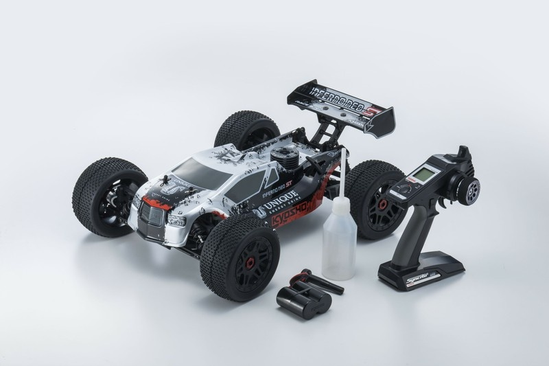 Kyosho Inferno Neo ST Race 2.0  T1 2.4GHz silber RTR 1:8