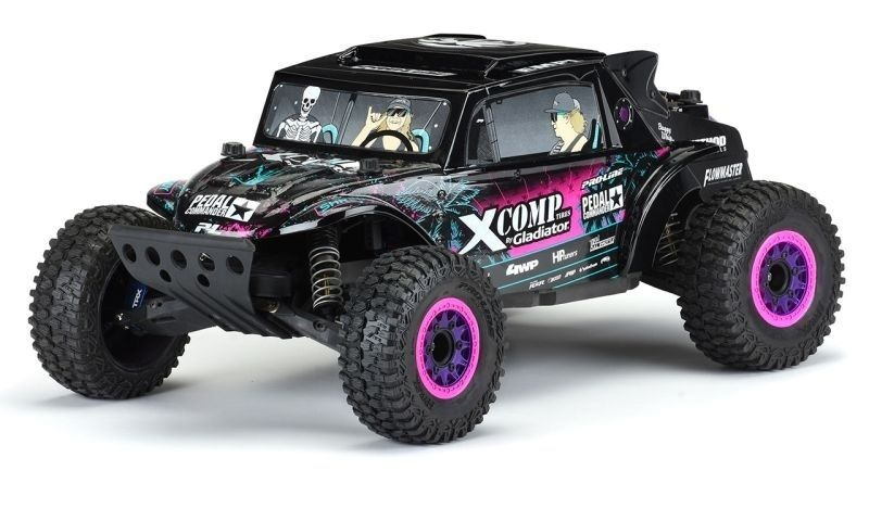 Pro-Line Megalodon Desert Buggy Karo schwarz für Slash 2WD &