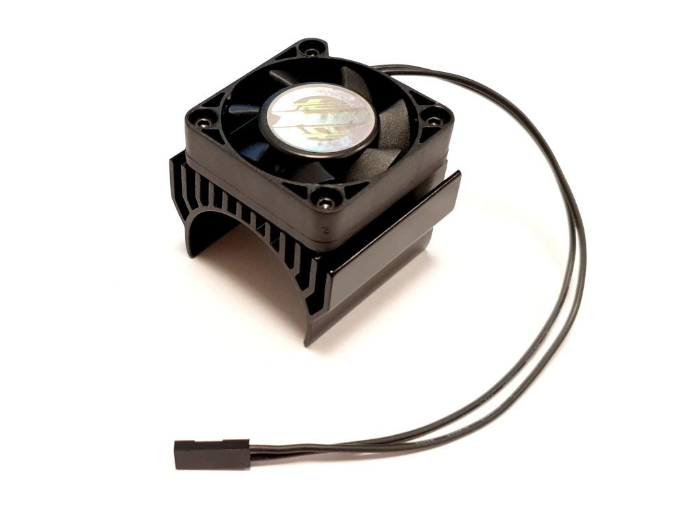 Dash Lüfter mit Kühlkörper 1:8, schwarz passend für 1:8er