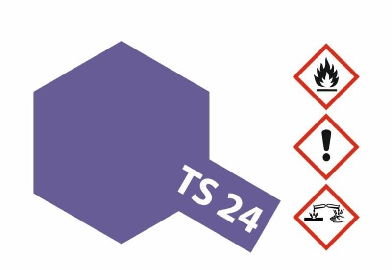 Tamiya Acryl-Sprühfarbe TS-24 Violett glänzend 100ml