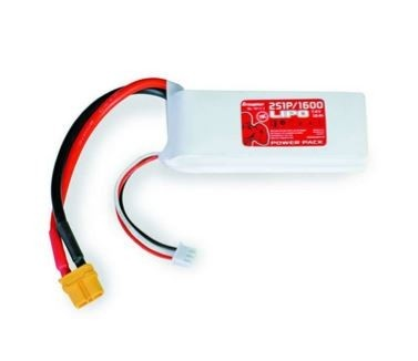 Graupner Power Pack LiPo 2S / 1600 mAh, 7,4 V, 70 C, XT-60