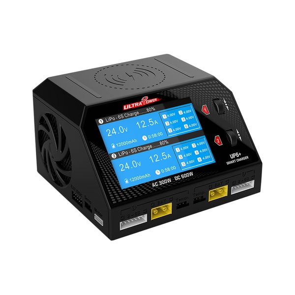 Ultra Power UP6+ Dual Smart Charger AC/DC 2 x 300W 16A