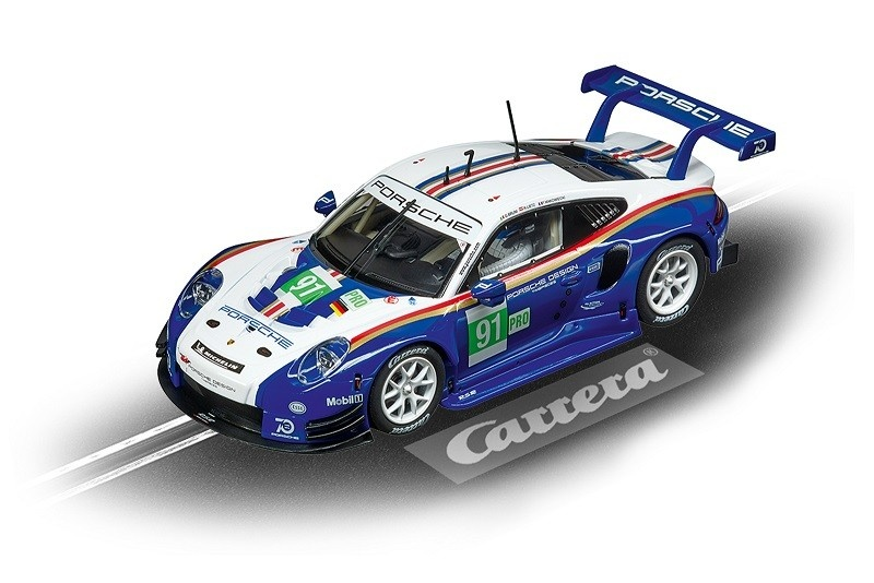 Carrera Digital 132 Porsche 911 RSR #91 956 Design
