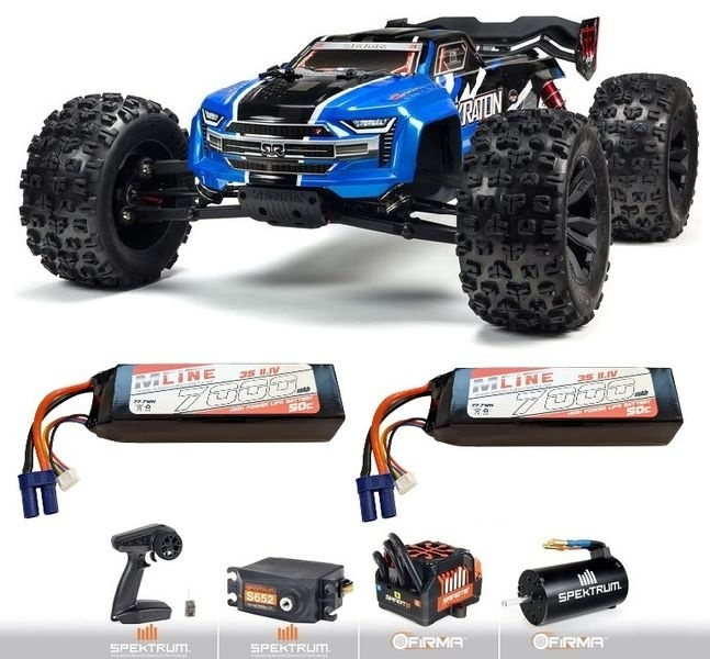 Arrma KRATON 6S V5 4WD BLX Speed Monster Truck m.