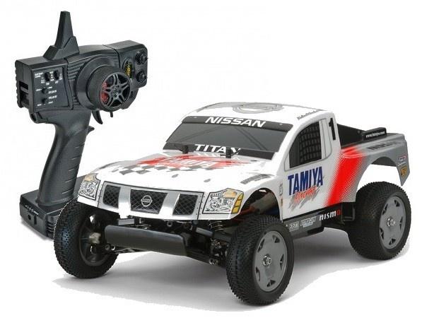 Tamiya RC Nissan Titan Racing Truck (DT-02) Bausatz 1:12